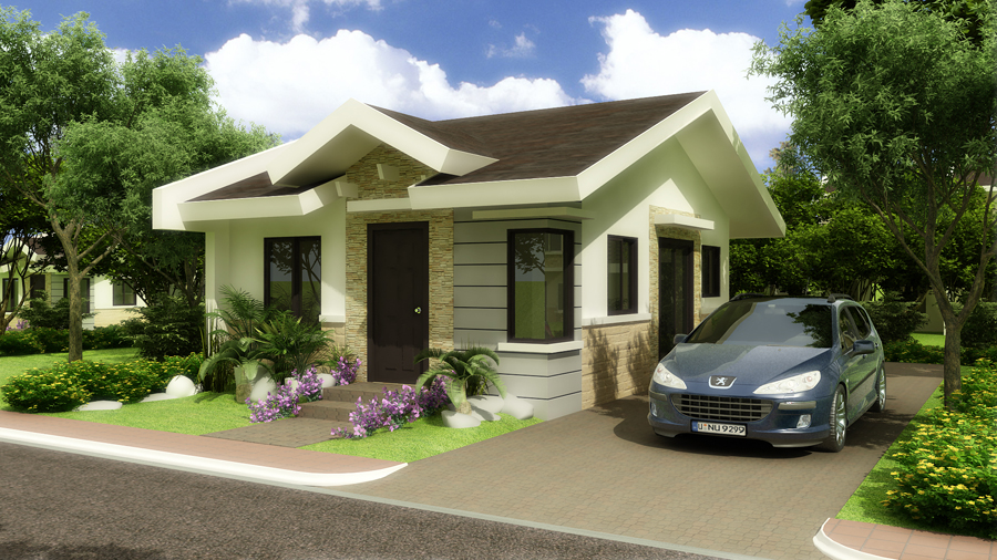 Dmci homes philippines for Tropical elevated house designs